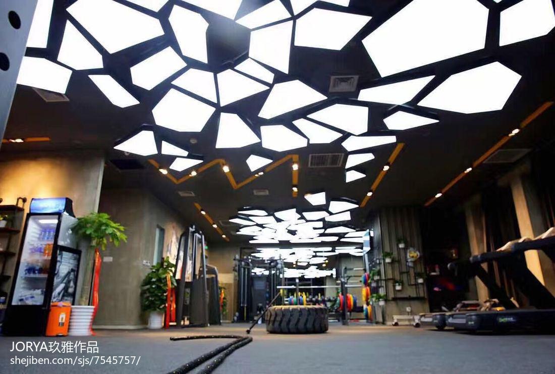 健身馆工作室吊顶设计