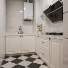 简洁美式厨房设计大全