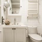 纯白美式卫浴设计
