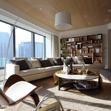 大气现代风格家居客厅布置