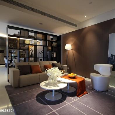 现代风格四居室客厅布置