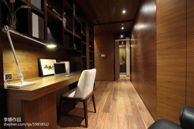 新中式风格书房设计大全