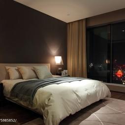 新中式风格简约卧室布置