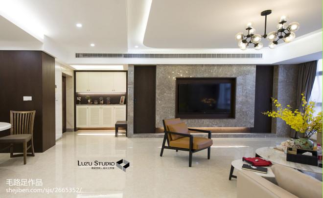现代风格精美背景墙设计