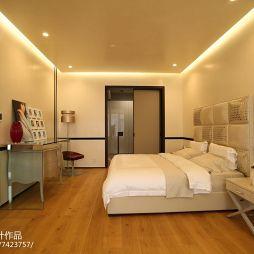现代风格别墅卧室装修案例