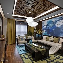 中式风格客厅效果图欣赏