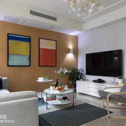 现代风格时尚二居室客厅设计