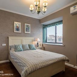 美式风格简约卧室设计