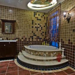美式别墅卫浴设计