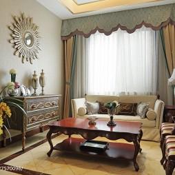 欧式风格别墅客厅设计