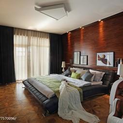 豪华现代风格卧室装修图