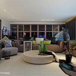 精美现代风格别墅客厅装修