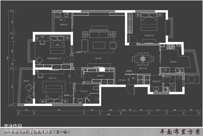 现代大户型住宅设计_2574594