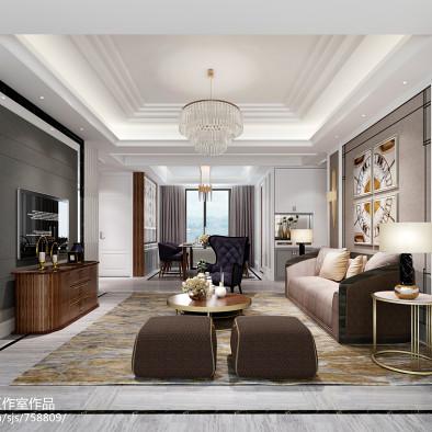 优雅高级灰——单身女精英的港派住宅