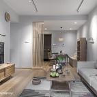 淡雅日式客厅装修