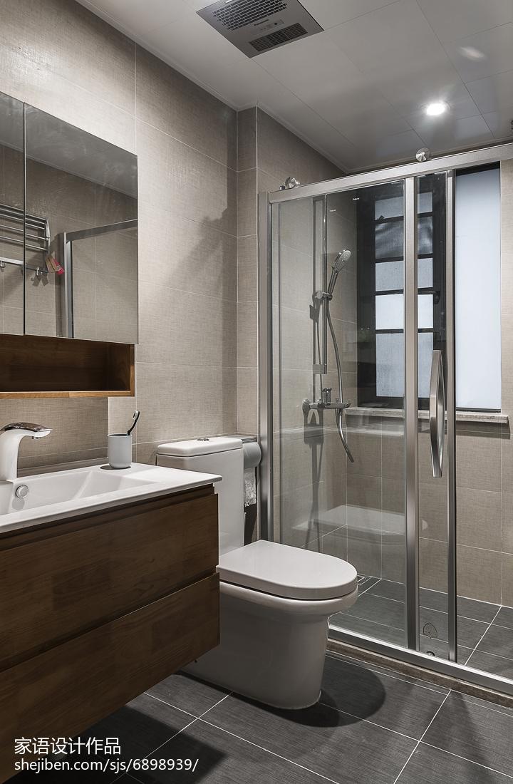 简洁日式卫浴设计案例