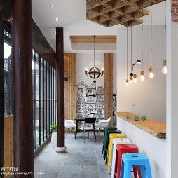 咖啡馆过道设计
