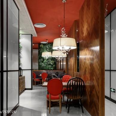 芳满庭餐厅过道设计
