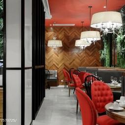 芳满庭餐厅就餐区设计