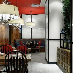 芳满庭餐厅就餐区装修
