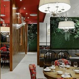 芳满庭餐厅装修案例