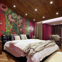 现代风格缤纷卧室设计