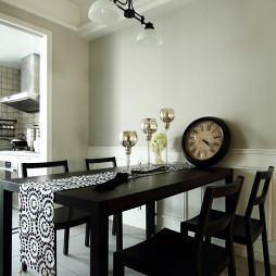 美式风格小餐厅设计