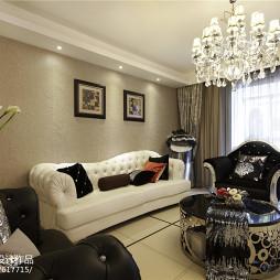 时尚欧式风格客厅设计案例