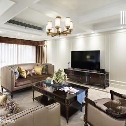 美式风格雅致客厅设计