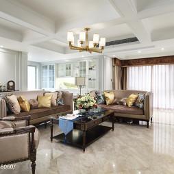 美式风格大气客厅设计