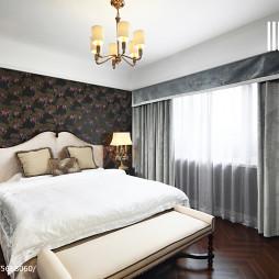 复古美式卧室装修