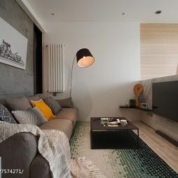 最新现代风格客厅装修案例图