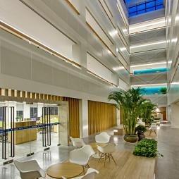 泰来环保办公楼休息区装修
