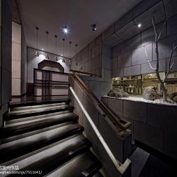 茶馆楼梯设计案例