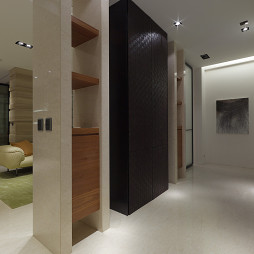 家装现代风格别墅玄关装修