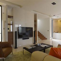 简约现代风格别墅客厅装修
