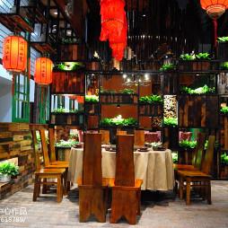 古朴的文化餐厅设计