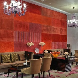 达蓬山度假酒店休息区装修