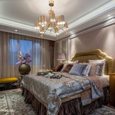 华丽现代风格卧室装修
