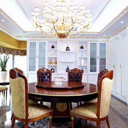 奢华欧式别墅餐厅设计