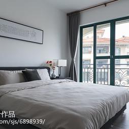 中式风格复式卧室布置