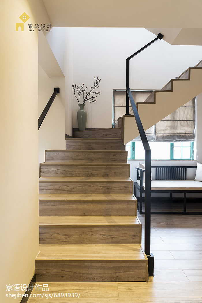 生活资讯_中式风格复式楼梯设计 – 设计本装修效果图