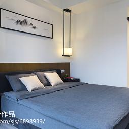 中式风格简约卧室布置