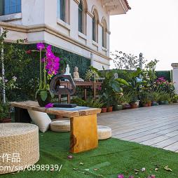 雅致中式风格花园装修