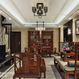 新中式风格客厅装饰图