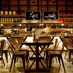 低地狱厨房餐厅就餐区设计