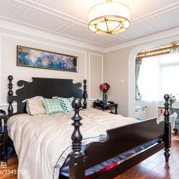 明亮美式卧室装修