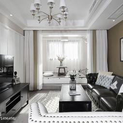 美式二居室客厅装修
