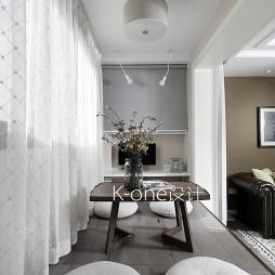 纯白美式风格阳台设计