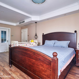 美式休闲卧室装修